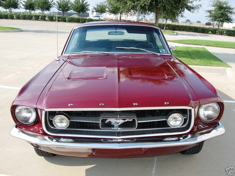 Ford Mustang 1967 Gt. 1967 FORD Mustang Coupe A-Code